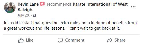 Addult2, Karate International of West Raleigh