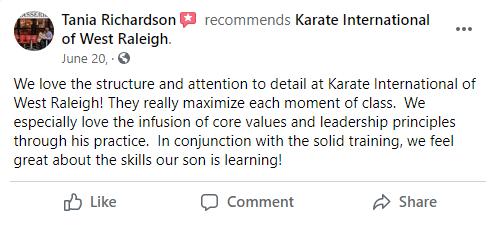 Adult1, Karate International of West Raleigh