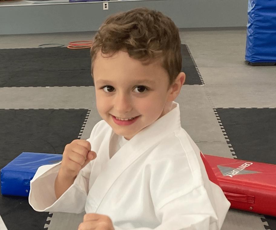 Little Samurai Dylan, Karate International of West Raleigh